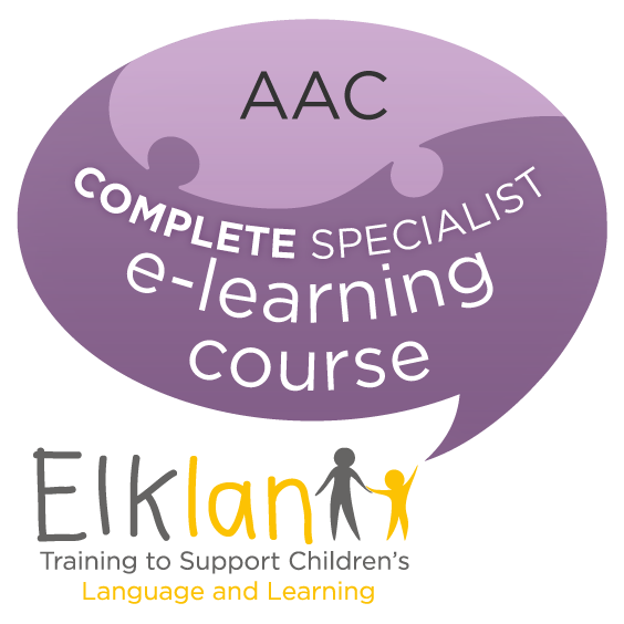 Supporting Children and Adults Using AAC - e-learning course