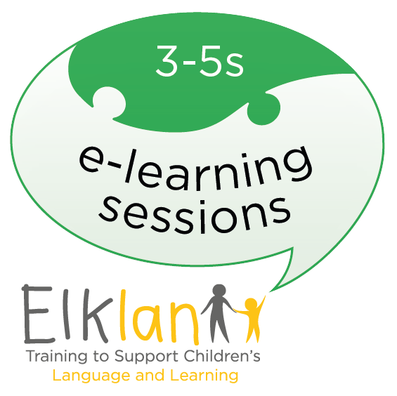 Speech and Langauge Support for 3-5s e-learning sessions