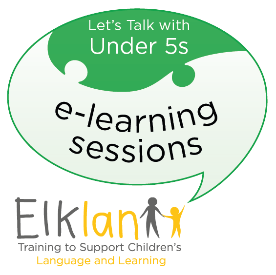 Let's Talk with Under 5s e-learning sessions